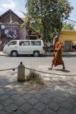 Budhist monk Phnom Penh Cambodia Stock Image