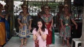 Bangkok Erawan shrine  stock video footage