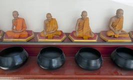 Budhist saints Stock Photos