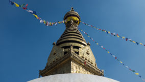 Budhist stupa Stock Photo