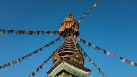 Budhist stupa Stock Images