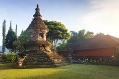 Budhist stupa in Ulu Danu temple Stock Image