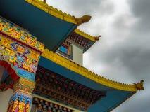 Budhist tempel Arkivfoto