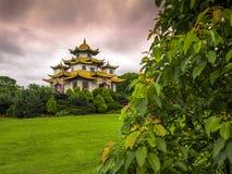 Budhist tempel Fotografering för Bildbyråer