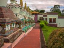 Budhist tempel Royaltyfri Fotografi