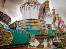 Budhist tempel Royaltyfria Bilder