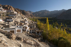 Budhist temple Phyang, Ladakh, India Stock Image
