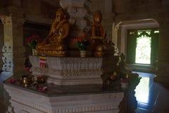 Budhisttempel Brahma vihara-Arama Banjar van Bali Stock Foto