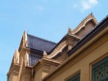buding的屋顶thawon watthu 库存照片