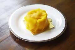Budino del mango Immagini Stock