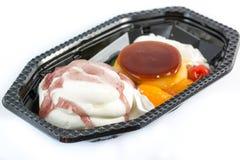 Budino della miscela del gelato Fotografia Stock Libera da Diritti