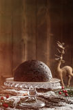 Budino di Natale Fotografia Stock Libera da Diritti