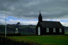 Budir-Kirche, Island lizenzfreies stockfoto