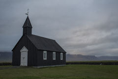 Budir-Kirche in Snaefellsnes Lizenzfreies Stockfoto