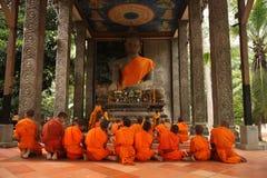 Budismo de Camboya en Siem Reap Fotos de archivo