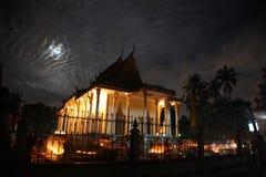 Budismo de la pagoda de Camboya en Siem Reap Imagenes de archivo