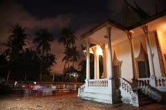 Budismo de la pagoda de Camboya en Siem Reap Fotos de archivo libres de regalías