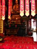 Budismo, fascínio, beleza e devoção em China fotos de stock