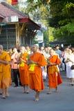 Budismo Magha Puja Day Fotografía de archivo