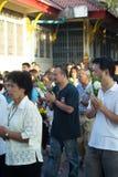 Budismo Magha Puja Day Foto de archivo libre de regalías