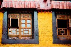 Budismo tibetano Lhasa Tibet del templo de Jokhang Fotos de archivo libres de regalías
