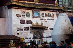 Budismo tibetano Lhasa Tibet do templo de Jokhang Fotografia de Stock Royalty Free