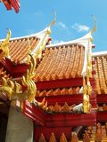 Budist-Tempel Bangkok Stockfotografie