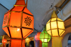 Budista da lanterna Fotografia de Stock