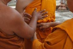 Budista de la ceremonia de la iniciación Fotografía de archivo