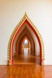 Budista de la manera de la caminata. Imagen de archivo