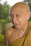 Budista idoso fotografia de stock royalty free