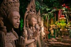Budista tailandés en la provincia de Nakhon Pathom, Tailandia Fotografía de archivo libre de regalías