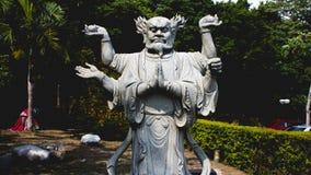 Budiststandbeeld Stock Afbeelding