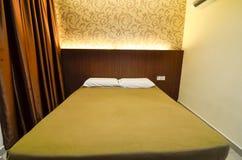 Budjet hotellrum Fotografering för Bildbyråer