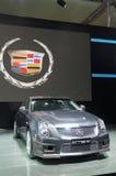 budka Cadillac samochodowi szarzy podawcy sporty Fotografia Stock