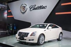 budka Cadillac samochodowy podawca bawi się biel zdjęcia stock