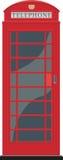 budka czerwieni telefon Zdjęcie Royalty Free
