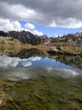 Budka jezioro Fotografia Royalty Free