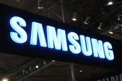 budka logo Samsung Obrazy Royalty Free