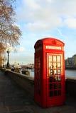 budka London telefon Zdjęcia Stock