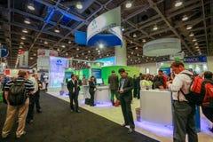 Budka Tata firma przy wystawą Oracle OpenWorld konferencja zdjęcia royalty free