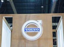 Budka Volvo Samochodowy podawca demonstrujący Zdjęcie Royalty Free