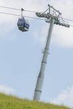 budka wagon kolei linowej dźwignięcia narta Obraz Royalty Free