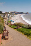 South West Coast Path Budleigh Salterton East Devon Royalty Free Stock Image