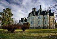 budmerice城堡公园村庄 库存照片