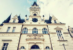 Budmerice castle in Slovak republic, blue photo filter Royalty Free Stock Photos