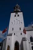 Budolfi教会,奥尔堡,丹麦 免版税库存照片
