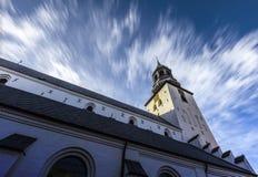 Budolfi church Aalborg stock photography