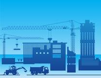 budowę fabryki royalty ilustracja