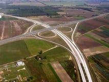 budowę autostrady Zdjęcie Stock